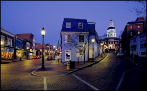 My hometown, Annapolis, MD, where James Madison, Alexander Hamilton and other representatives met and called for a Constitutional Convention