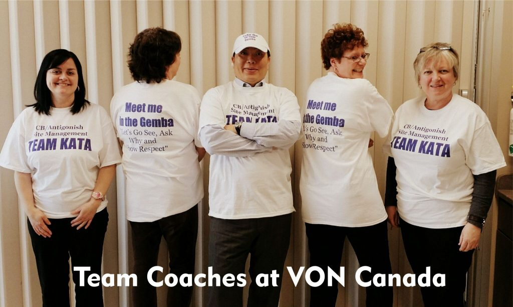 Team Coaches at VONcolor
